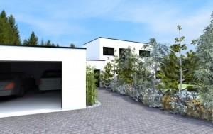 construction béton Villa Lyon