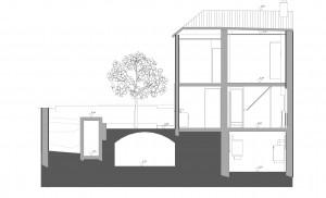 plan en coupe habitation