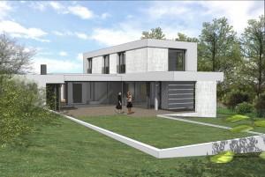 Villa contemporaine sud ouest