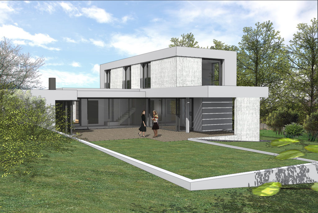Villa contemporaine br habitation individuelle for Habitation individuelle